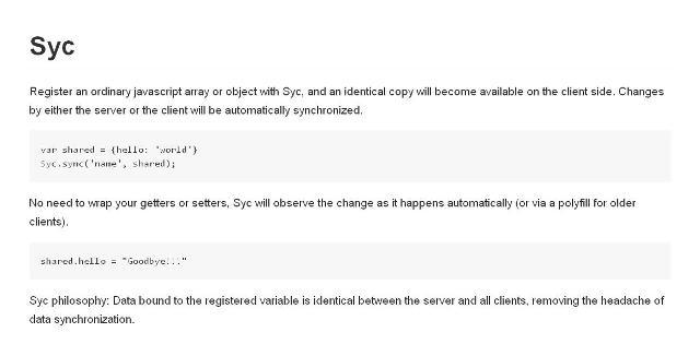 WebDesign Bibliothèque de synchronisation de données clientserveur - Syc