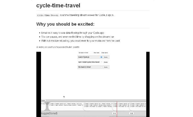 WebDesign Débuggez vos application JavaScript en simulant toujours les mêmes actions - cycle-time-travel