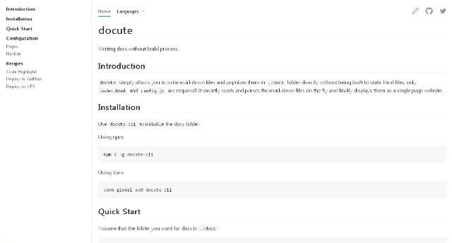 WebDesign Redigez votre documentation sans effort - docute