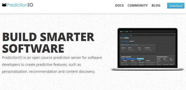 WebDesign Serveur de prévision open source pour Applications intelligentes - PredictionIO