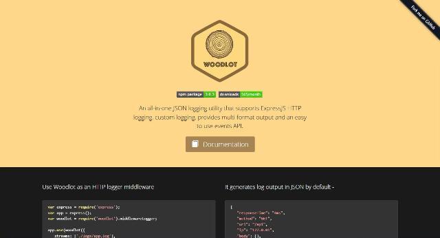 WebDesign Un outil JavaScript de journalisation au format JSON personnalisable - woodlot