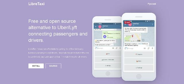 WebDesign Une alternative à Uber open source et codé en JavaScript - LibreTaxi