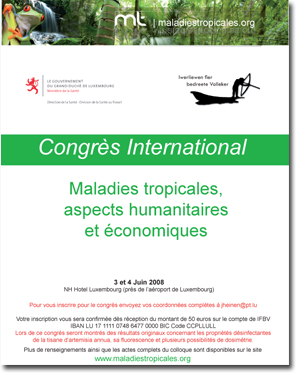 Congrès International Maladies tropicales 2008