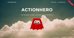 La nouvelle version 13.0.0 de l'application actionhero.js vient de sortir