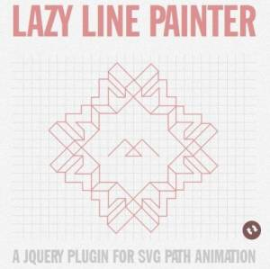 Animations de chemin SVG avec jQuery - Lazy Line Painter