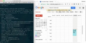 Un outil JavaScript pour la gestion de calendriers de Google Calendars - stenella