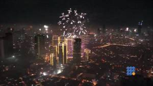 WebBuzz du 02/01/2015 : Feux d'artifices à Manille-Fireworks over Manila