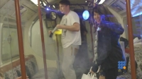 WebBuzz du 12/04/2017: Une rave organisée dans le métro de Londres-Illegal Underground Drum and Bass Rave