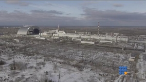 WebBuzz du 30/11/2016: Mise en place de l'arche de Chernobyl-Unique engineering feat concluded as Chernobyl arch has reached resting place