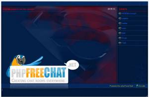 Script PHP Open source de discussions en ligne - phpFreeChat