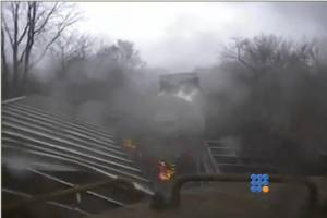 WebBuzz du 11/08/2014: Un train pris dans un cyclone-a train in a tornado