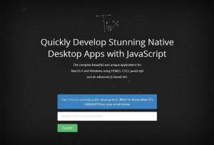 Des applications natives créées grace à JavaScript - Tint 2