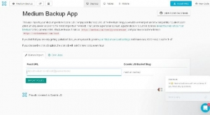 Une application de sauvegarde JavaScript pour vos sites web - medium-backup