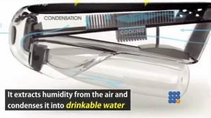 WebBuzz du 28/01/2016: Une bouteille d'eau qui se remplit toute seule-Self filling water bottle that turns air into drinking water