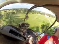 WebBuzz du 28/07/2015: Sauvetage d'un avion RC par hélicoptère-RC airplane rescue by helicopter