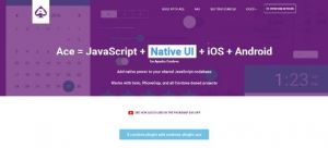 JavaScript + natif UI + iOS + Android pour Apache Cordova - Ace