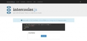 Utilisez AJAX simplement dans vos applications et sites web - intercooler.js