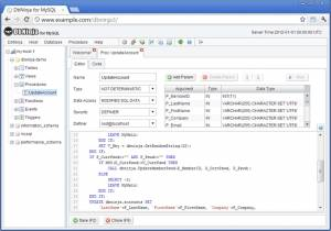 Application Web de gestion de Base Mysql - DbNinja