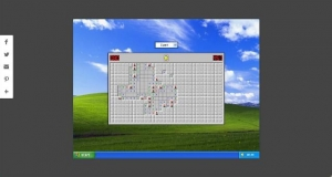 Le jeu démineur de windows XP codé en JavaScript - MinesweeperXP