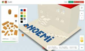 Construire en LEGO en ligne avec Chrome - Build with Chrome