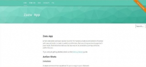 Un lanceur d'applications codé en Node/Javascript - Zazu app