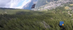 WebBuzz du 22/06/2016: Voler comme superman dans les alpes-Fly like superman in the french alps