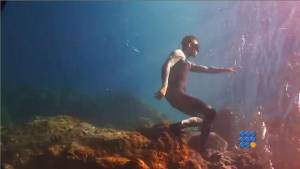 WebBuzz du 10/10/2014 : Video en apnée gagnante du World ShootOut 2014-Freedive video winner of the World ShootOut 2014