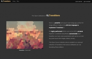 Une collection de transitions JavaScript pour affichage plus dynamique - GL-transitions