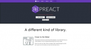 Une bibliothèque JavaScript alternative à REACT - Preact