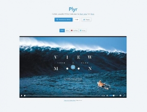 Un lecteur JavaScript simple pour HTML5, youtube et Vimeo - plyr
