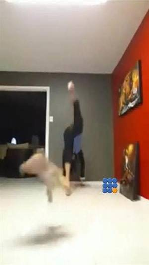 WebBuzz du 03/03/2015 : Chewy n'aime pas le yoga-Her dog don't like yoga