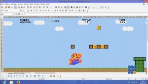 WebBuzz du 16/08/2016: Super-MARIO Bros fait avec Excel-Super MARIO Bros made in excel