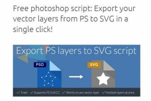 Script de conversion de calques Photoshop en SVG