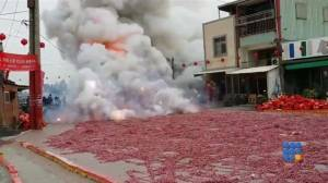 WebBuzz du 08/12/2014 : Chine un peu trop de pétards-China too much firecracker